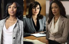 How To Power Dress: Lessons From TVs Fiercest Female Lawyers -- Great ideas from characters and their outfits that you see on TV