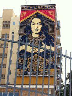 Malaga, Arte urbano en el Soho por Maus. (11/13)