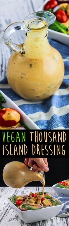 Vegan Thousand Island Oil-Free Dressing