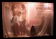 The live window from the #KinkyKnickers launch here at Liberty