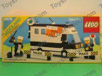 LEGO 6676 Mobile Command Unit Vintage 1986 Town Police Set