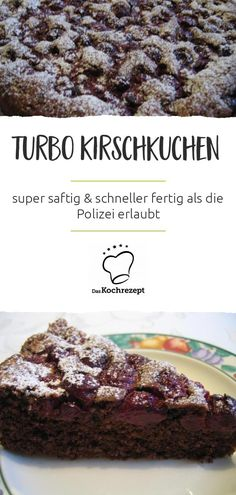 Turbo Kirschkuchen – das ist der Hammer: Mit dem Rezept gelingt dir ein super … Turbo cherry cake – that's awesome: With the recipe you can make a super juicy cake and it will be ready faster than the police allow! Cake Recipes, Snack Recipes, Cooking Recipes, Best Pancake Recipe, Cherry Cake, Homemade Pancakes, Pumpkin Spice Cupcakes, Food Cakes, Smoothie Recipes