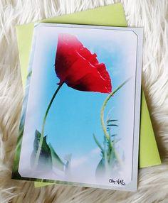"""Carte double """" coquelicot rêveur ... """" 10,5x15cm de céline photos art nature - Un grand marché Celine, Art Et Nature, Photos, Picture Of Snow, Flower Colors, Poppies, Pictures"""