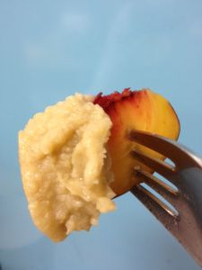 fruit dip - I take this for lunch with my fruit and it keeps me full until dinner. Clean, unprocessed ingredients.