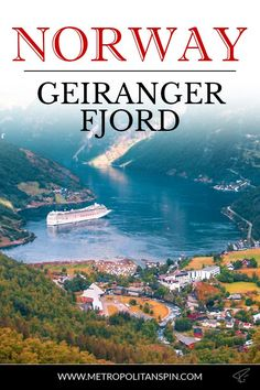 Check out the beautiful Geirangerfjord! Norway Travel Guide, Sweden Travel, Iceland Travel, Europe Travel Tips, Travel Destinations, European Travel, Lofoten, Winter Travel, Holiday Travel