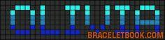 prénom - first name  - olivia - point de croix - cross stitch - Blog : http://broderiemimie44.canalblog.com/