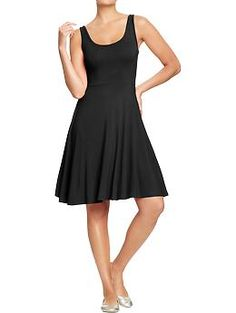 Womens Stretch Jersey Tank Dresses | Old Navy