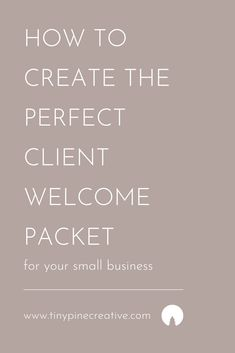After many versions, I have finally created what I think is the perfect client welcome packet. Business Names, Business Tips, Online Business, Welcome Packet, Business Journal, Business Organization, Book Projects, I Cant Even, Make It Work