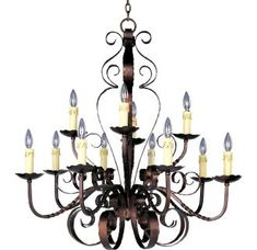 View the Maxim 20620 Aspen 12 Light Double-Tier Chandelier at LightingDirect.com.