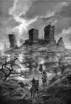 Revelamos 25 nuevas ilustraciones inéditas de la edición especial de 'Game of Thrones'   Cinepapaya