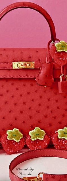 Miracles Do Work! Colors Of Fire, Chic Summer Style, Simply Red, Hermes Bags, Little Bag, Luxury Handbags, Designer Handbags, Shades Of Red, Red Fashion