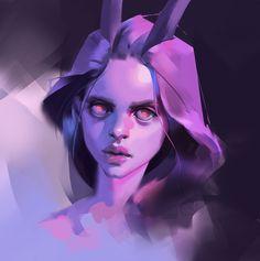ArtStation - Daily portrait studies pack_01, Viktor Titov