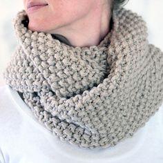 Reverence Cowl Knitting Pattern