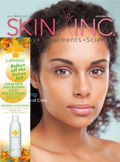 Check out Lélexo in this month's issue of Skin Inc Magazine! (Page 18)