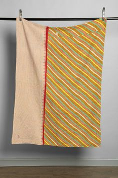 Anchal X Urban Renewal Striped Quilt
