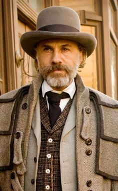 Best Actor Nominee Oscars 2013  CHRISTOPH WALTZ, DJANGO UNCHAINED  This is Waltz's second nomination (for playing bounty hunter Dr. King Schultz). His first nomination—and first win!—was also in a Quentin Taratino film.