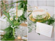 Green, white and gold organic wedding inspiration - http://fabyoubliss.com/2014/09/12/organic-wedding-inspiration/