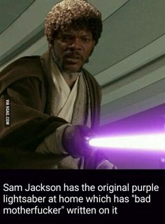 Samuel L. Jackson is the man