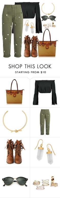 """""""Untitled #1711"""" by stoicheto ❤ liked on Polyvore featuring Boohoo, Amber Sceats, STELLA McCARTNEY, Wild Diva, BillyTheTree and Ray-Ban"""