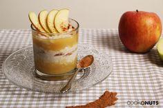 Kokos Milchreis mit Apfelmus und Zimt, Coconut milkrice with apples and cinnamon, Vegan Cinnamon, Coconut, Pudding, Breakfast, Apples, Desserts, Recipes, Food, Vegan Breakfast
