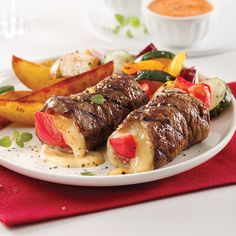 Roulades de boeuf marinées - 5 ingredients 15 minutes Beef Rouladen, Pot Roast, Beef Recipes, Carne, Steak, Bacon, Food And Drink, Pork, Sandwiches