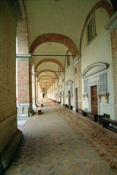 The Loggia of the Apostolic Palace of the Sanctuary in Loreto Loggiato di Palazzo Apostolico della #Basilica di #Loreto #destinazionemarche