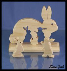 Happy Easter Video from Patty, Kellie, Shane and yours truly. If you are reading this in the email newsletter you may not see the video. Scroll Saw Patterns Free, Wood Patterns, Wooden Crafts, Diy And Crafts, Wood Projects, Woodworking Projects, Wooden Animals, Wooden Puzzles, Wood Toys