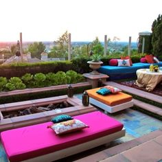 Moroccan theme 40th birthday. Transformed a backyard into a lounge. # ...