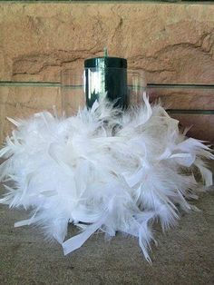 Bits N More On Pinterest Feather Centerpieces Ostrich