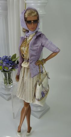 Matisse Fashions    OOAK Fashions for Silkstone Barbie and Fashion Royalty Dolls