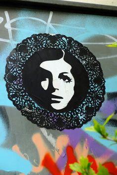 Smot - street art - Paris 20 - Villa de l'ermitage