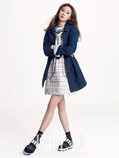 Gong Hyo Jin - Elle Magazine March Issue '15 #Gong Hyo Jin#Elle