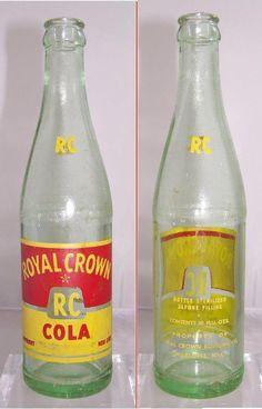 RARE FULL 10oz LEMON BLOSSOMS ACL SODA BOTTLE