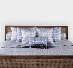LOOM The Haunting Prisms Bedding #loomfabric #bedding #cotton #loombedding