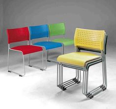 Furniture:Garden Furniture Ergonomic Equipment Buying Ergonomic Equipment Red Blue Yellow Green Stacking Chair Lovely Garden Chair Furniture...