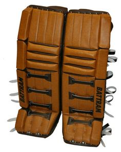 Battram Fury Retro Goalie leg pads.  Nice.