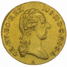 Josef II. 1765/80 - 1790 Dukat 1787 A Gold
