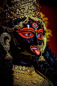 Indian Goddess Kali, Goddess Art, Indian Gods, Mother Kali, Divine Mother, Mahakal Shiva, Lord Shiva, Jay Maa Kali, Kali Puja