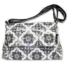 Trend Lab Versailles Diaper Bag - Messenger Style #tinytotties
