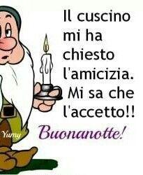 Buonanotte frasi simpatiche heritage malta for Vignette buongiorno simpatiche