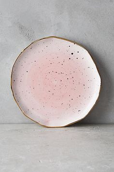 Discover unique Side, Dessert & Canape Plates at Anthropologie, including the season's newest arrivals. Ceramic Plates, Ceramic Pottery, Ceramic Art, Wabi Sabi, Home Deco, Dinnerware, House Design, Ceramics, Dining