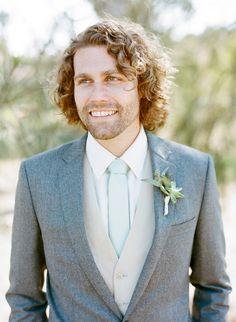 #suit  Photography: Josh Gruetzmacher Photography - joshgruetzmacher.com  Read More: http://www.stylemepretty.com/california-weddings/2015/06/16/organic-classical-condor-ridge-ranch-wedding/