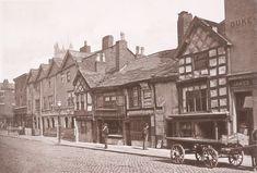 Old Buildings, Chapel Street, Salford