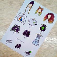 Alien season 👽💋 – What is your outfit? 💬… – Alien Season 👽💋 – Was ist dein Outfit? Kawaii Drawings, Art Drawings Sketches, Disney Drawings, Easy Drawings, Fashion Design Drawings, Fashion Sketches, Clothing Sketches, Art Du Croquis, Arte Fashion