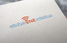 "Entry #3 by Naumovski for Design a Logo for ""Wireless One Solutions"" | Freelancer.com"