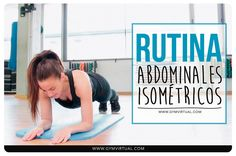 Rutina paso a paso de abdominales isométricos