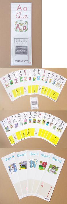 "Marva Collins Complete Set of 45 Cards 5/"" x 7/"" Phonics Alphabet Cards"