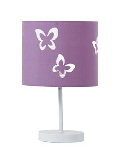 Liste de naissance Lampe de chevet papillons fill, Chambre Bébé