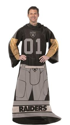 Use this Exclusive coupon code: PINFIVE to receive an additional 5% off the Oakland Raiders Unisex Adult Comfy Throw at SportsFansPlus.com