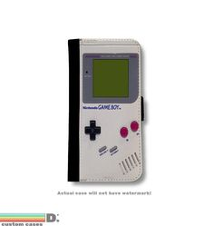 Retro Game Boy Leather Wallet Phone Case for iPhone 6, 6s and 6+ and 6+s, Valentines day
